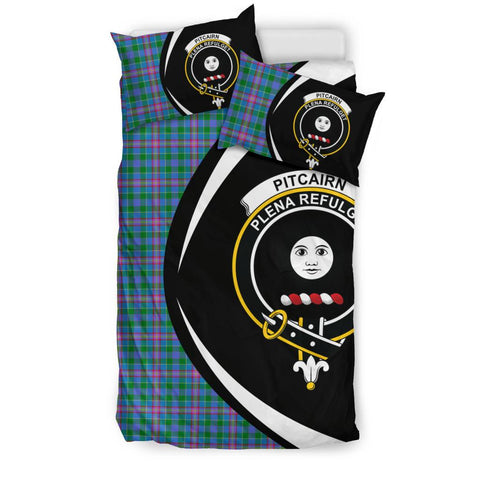 Image of Pitcairn Hunting Tartan Circle Style Bedding Set