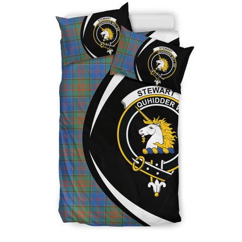 Image of Stewart Of Appin Hunting Ancient Tartan Circle Style Bedding Set