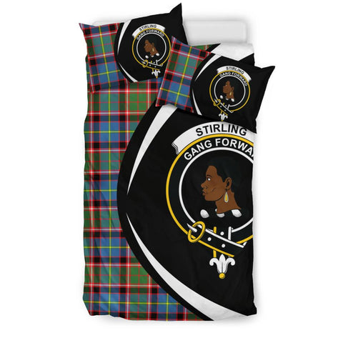 Stirling & Bannockburn District Tartan Circle Style Bedding Set