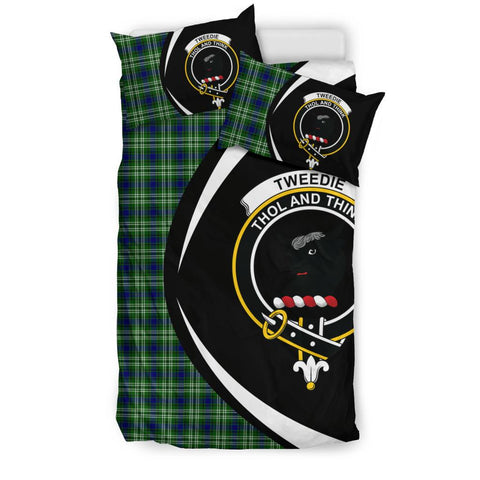 Tweedside District Tartan Circle Style Bedding Set