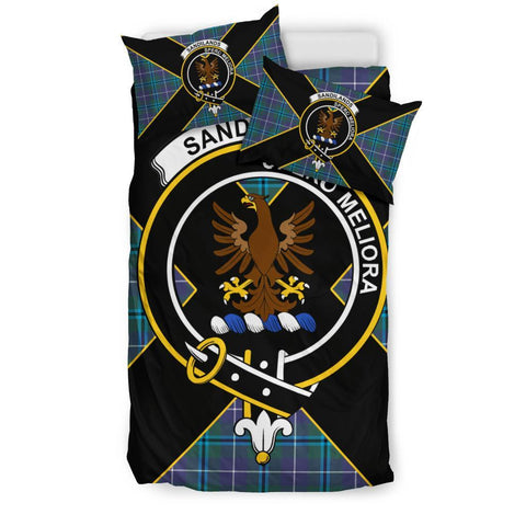 Sandilands Tartan Duvet Cover Set - Luxury Style Twin Size