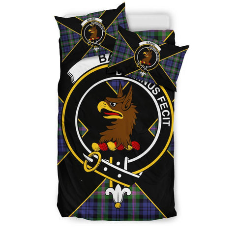 Image of Baird Tartan Duvet Cover Set - Luxury Style Twin Size