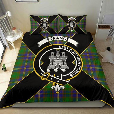 ScottishShopTartan Strange (or Strang) Bedding Set - Luxury Style