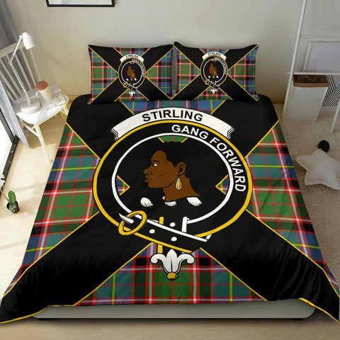 Image of Tartan Stirling (of Keir) Bedding Set - Luxury Style