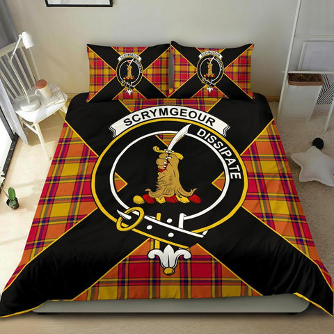 ScottishShopTartan Scrymgeour Bedding Set - Luxury Style