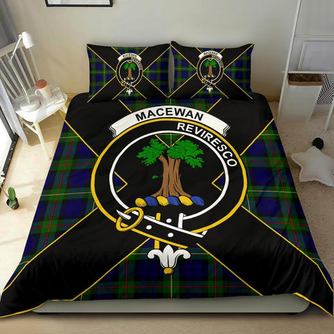 ScottishShopTartan MacEwen Bedding Set - Luxury Style