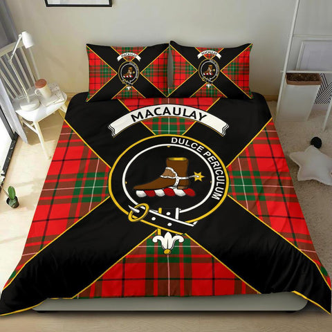ScottishShopTartan MacAulay Bedding Set - Luxury Style