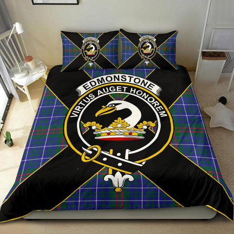 Tartan Edmonstone (of Duntreath) Bedding Set - Luxury Style
