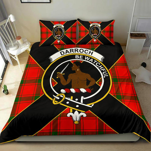 ScottishShopTartan Darroch (Gourock) Bedding Set - Luxury Style