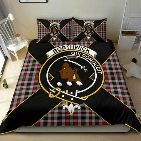 Image of Tartan Borthwick Bedding Set - Luxury Style