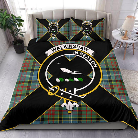 ScottishShopTartan Walkinshaw Bedding Set - Luxury Style