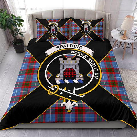 ScottishShopTartan Spalding Bedding Set - Luxury Style
