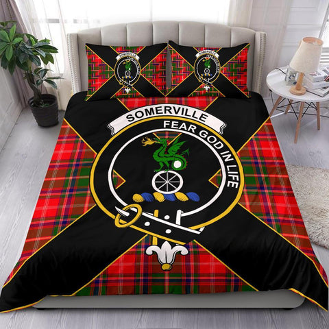 ScottishShopTartan Somerville Bedding Set - Luxury Style