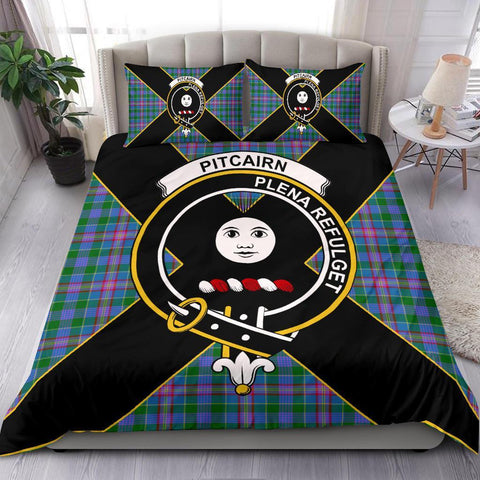 Image of ScottishShopTartan Pitcairn Bedding Set - Luxury Style
