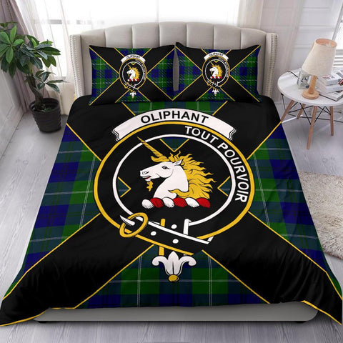 ScottishShopTartan Oliphant Bedding Set - Luxury Style