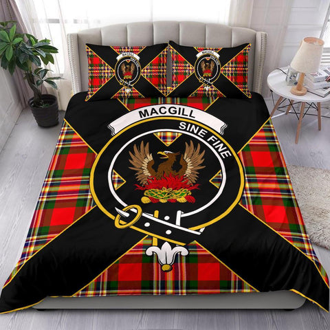 Image of ScottishShopTartan MacGill (Makgill) Bedding Set - Luxury Style