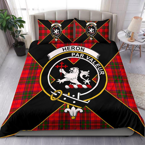 ScottishShopTartan Heron Bedding Set - Luxury Style