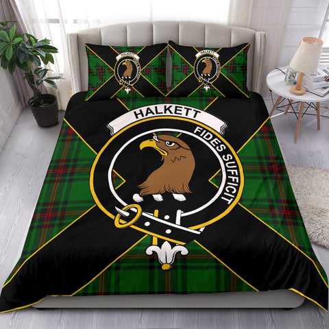 ScottishShopTartan Halkett Bedding Set - Luxury Style