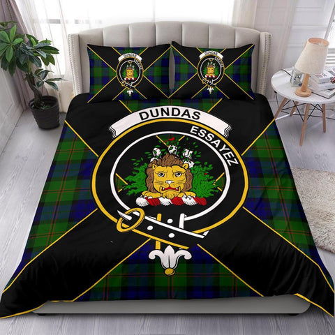 ScottishShopTartan Dundas Bedding Set - Luxury Style