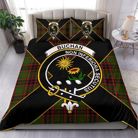 ScottishShopTartan Buchan Bedding Set - Luxury Style