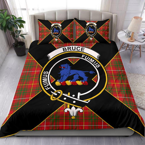 Tartan Bruce Bedding Set - Luxury Style