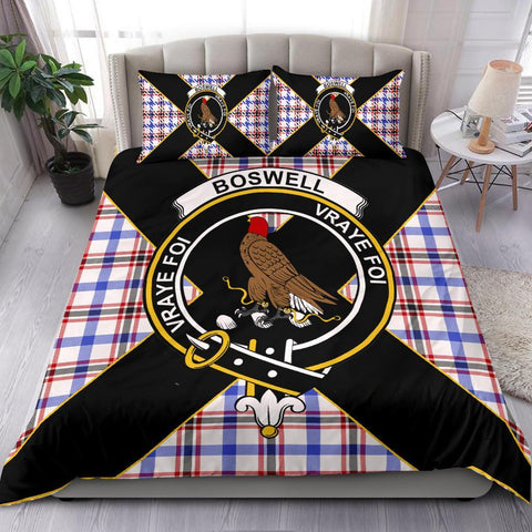 Image of ScottishShopTartan Boswell Bedding Set - Luxury Style