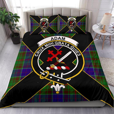 Tartan Adam Bedding Set - Luxury Style
