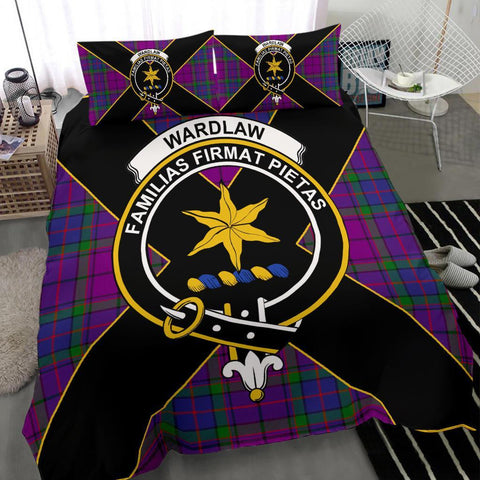 Image of ScottishShopTartan Wardlaw Bedding Set - Luxury Style