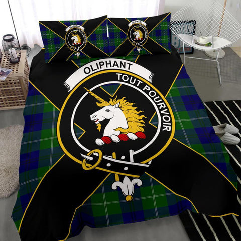 Image of ScottishShopTartan Oliphant Bedding Set - Luxury Style