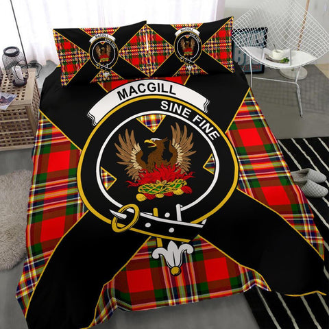 ScottishShopTartan MacGill (Makgill) Bedding Set - Luxury Style