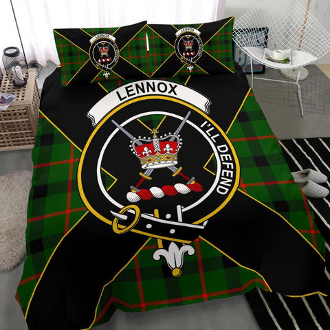 ScottishShopTartan Lennox (Lennox Kincaid) Bedding Set - Luxury Style