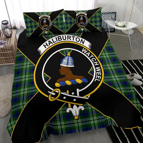 ScottishShopTartan Haliburton Bedding Set - Luxury Style