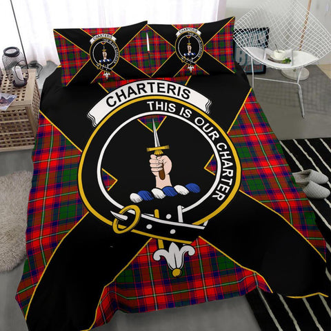 ScottishShopTartan Charteris (Earl of Wemyss) Bedding Set - Luxury Style