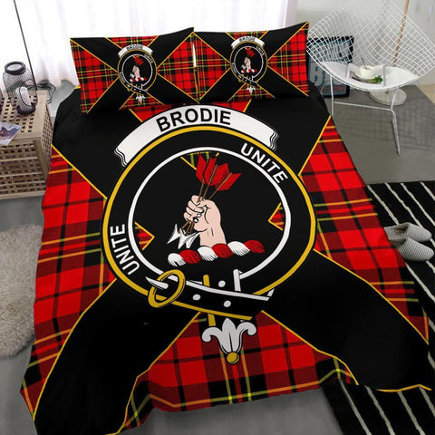 ScottishShopTartan Brodie Bedding Set - Luxury Style