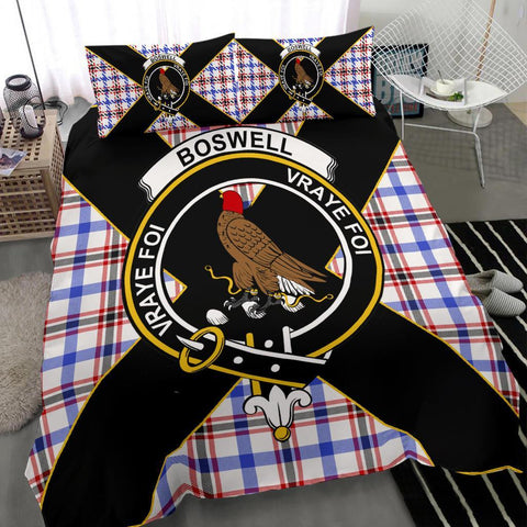 ScottishShopTartan Boswell Bedding Set - Luxury Style