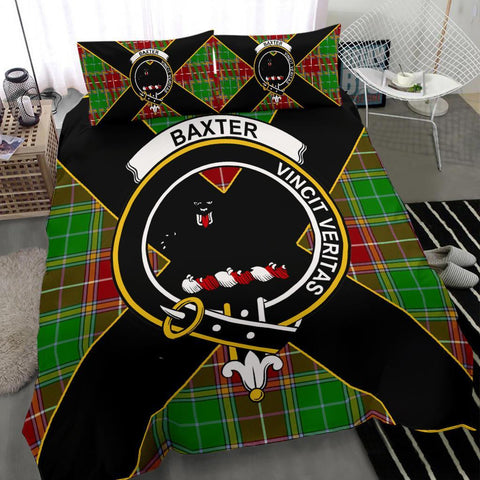 Image of ScottishShopTartan Baxter Bedding Set - Luxury Style