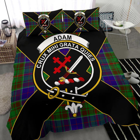 Image of Tartan Adam Bedding Set - Luxury Style