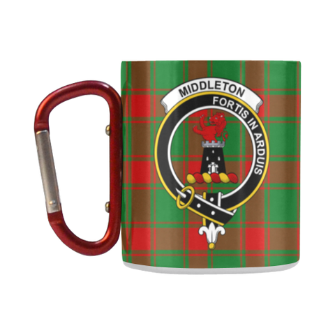 ScottishShop Insulated Mug - Middleton ModernTartan Insulated Mug - Clan Badge