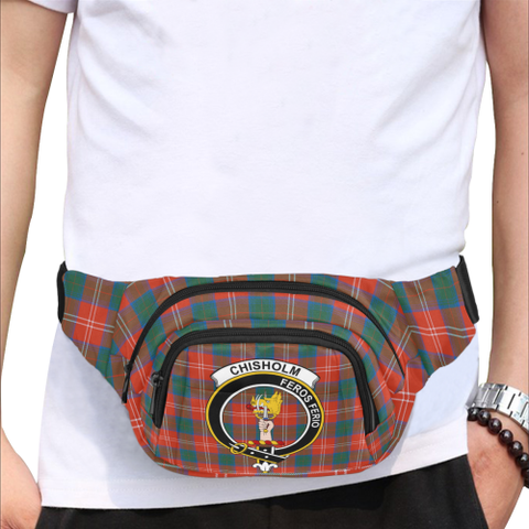 Chisholm Tartan Fanny Pack | Tartan Bum Bag| Hot Sale