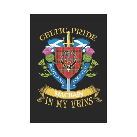Image of MacBain (MacBean) Clan Celtic Pride Garden Flag | Over 300 Clans | Special Custom Design