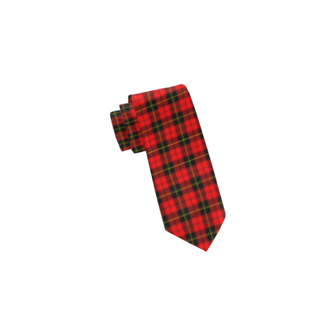 Tartan Necktie - Wallace Hunting - Red Tie