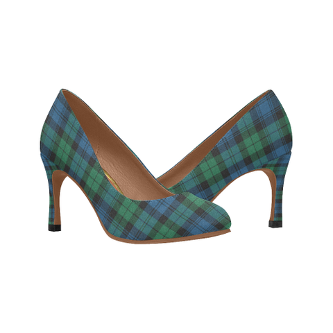 Image of Blackwatch Ancient Plaid Heels