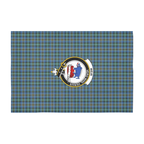 Weir Crest Tartan Tablecloth | Home Decor
