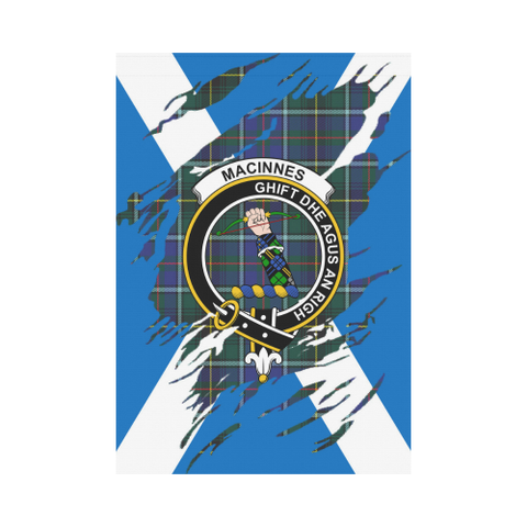 ScottishShop Garden Flag - Tartan Macinnes Lives In Me Flag