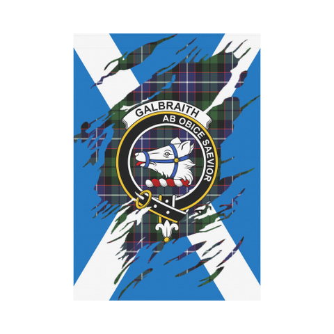 Garden Flag | Tartan Galbraith Lives In Me Flag | 2 Sizes