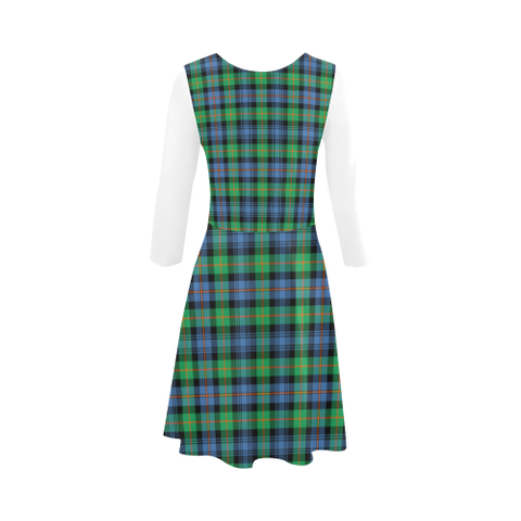 Murray of Atholl Ancient Tartan 3/4 Sleeve Sundress | Exclusive Over 500 Clans