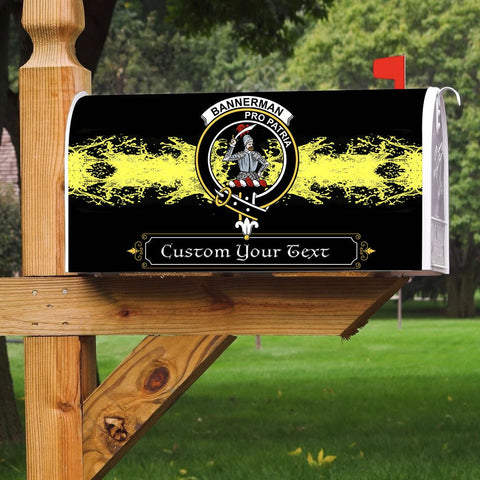 Image of ScottishShop Email Box Cover - Bannerman Tartan Email Box (Custom)