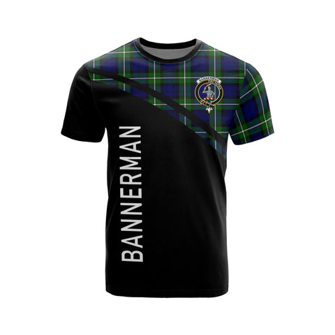 Bannerman Tartan All Over T-Shirt - Curve Style