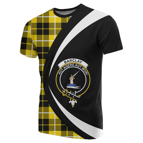 Image of Barclay Dress Modern Tartan T-shirt Circle