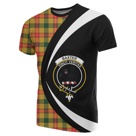Image of Baxter Tartan T-shirt Circle